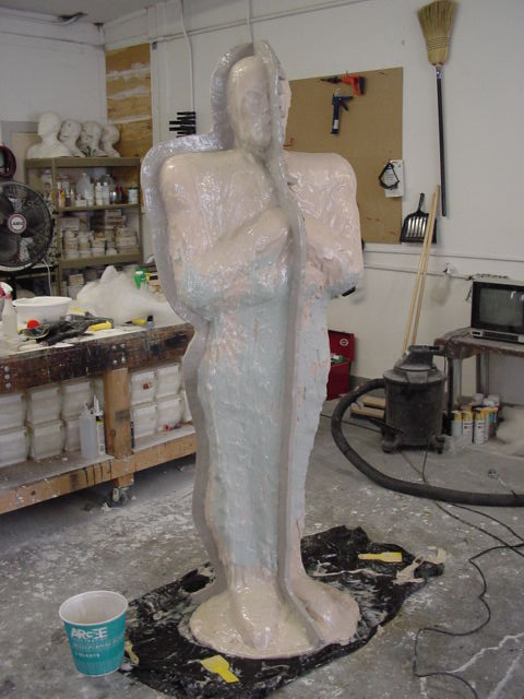 This eight-foot Sentinel mold has a glass case with a urethane jacket.