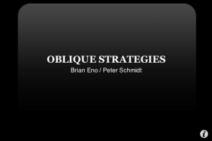 obliqueStrategies01