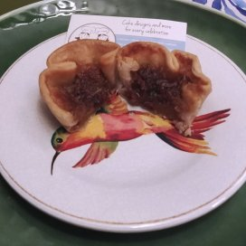 Butter tart from the Baking Twins at the Great Canadian Butter Tart Festival in Paris Ontario.