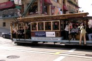 Taking a cable car ride through San Francisco is a perfect way to visit San Francisco.