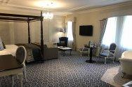 Sleeping quarters in Ballyseede Castle - roguetrippers were living in luxury.