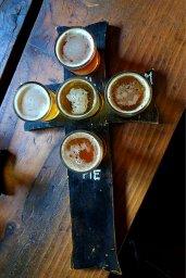 Brimstone-Brewing-serves-craft-beer-flights-in-crucifix