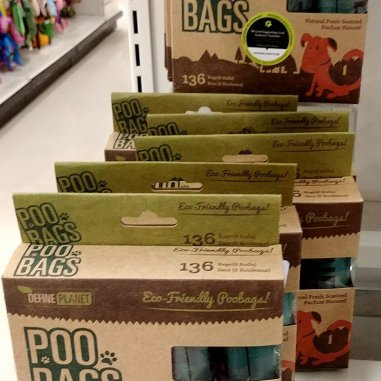 Eco-Friendlly poop bags are a necessity to have for every road trip with your dog.
