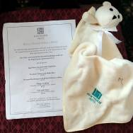 Hawthorne Hotel gives dogs toys, water, treats, and a doggy room service menu - making them a very pet friendly hotel