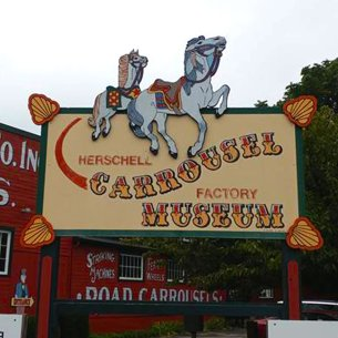Welcome to Herschell Carrousel Factory Museum.