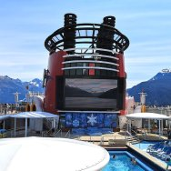 Roguetrippers can enjoy first run Disney Movies while at Sea.