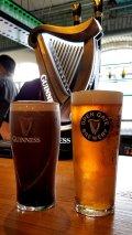 Enjoying a Pint of Guinness