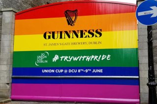 Guinness Pride Flag - Try it with Pride