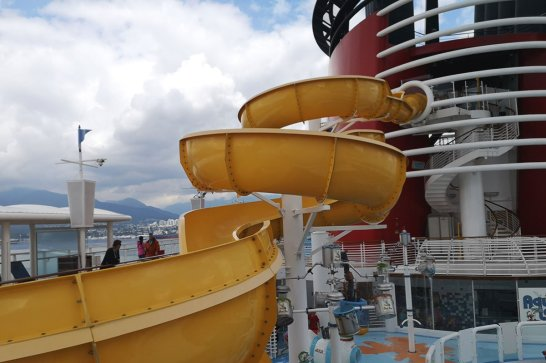Roguetrippers took a Disney Cruise and enjoyed the water park during their Alaskan cruise