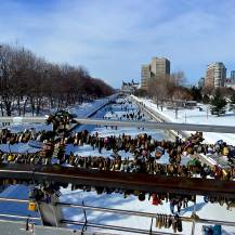 Locks of Love over the Rideau Canal