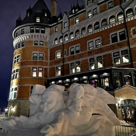 Fairmont Chateau Frontenac is where RogueTrippers stayed during Carnaval