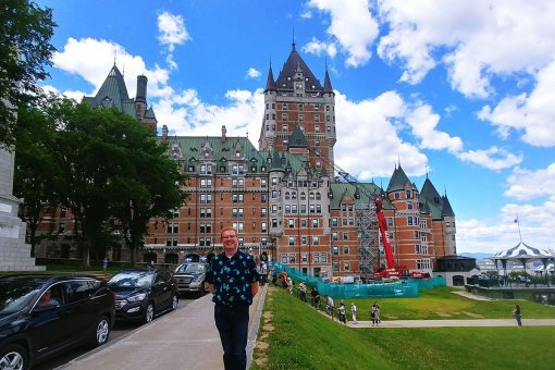 Nick Kulnies and Greg Bellefontaine took a Rogue Trip to Quebec City June 2019