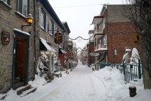 Vieux Quebec is a Unesco World Heritage site