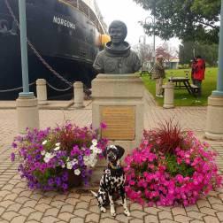 Roguetrippers visit Roberta Bondar in Sault Ste Marie