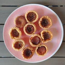 A platter of Doo Doo's famous Butter Tarts