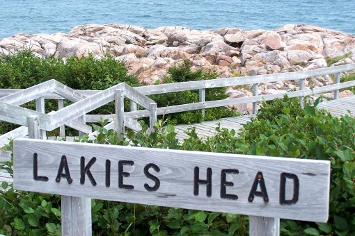 Lakies Head in the Cabot Trail.