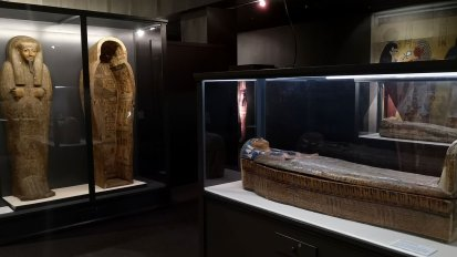 Egyptian Mummies exhibit - Museum of Natural History