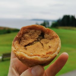 The Roguetrippers butter tart quest at Clucking Hen
