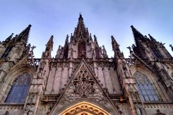 Cathedral Barcelona Gothic Quarter Barcelona