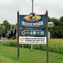 Welcome town Milverton Ontario in Perth County