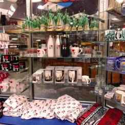 Travel Souvenirs at a truck stop in Up State New York