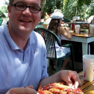 Nick-Kulnies-enjoys-Low-Country-Boil-Crab-Shack-Tybee