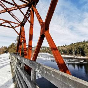 Halifax area hiking adventures include Musquodoboit Trailway Roguetrippers