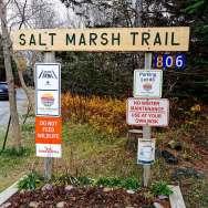 Halifax area Hiking Trails Salt Marsh Trails