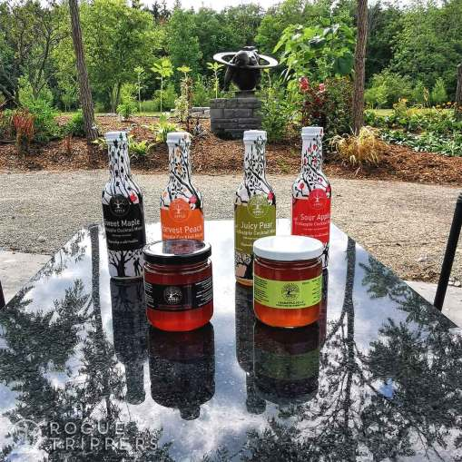 Products from Appleflats crabapple orchard