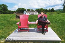 Nick Kulnies Roguetrippers visits Fort Anne National Historic Site