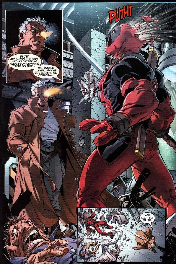 Marvel Comics Final Thoughts Deadpool Amp Cable Ultimate