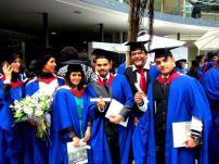 Graduating in UK