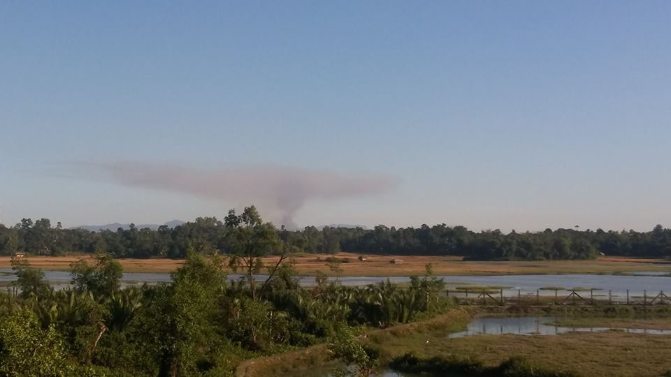 Fire in Bangladesh border village is a warning signal for refugees