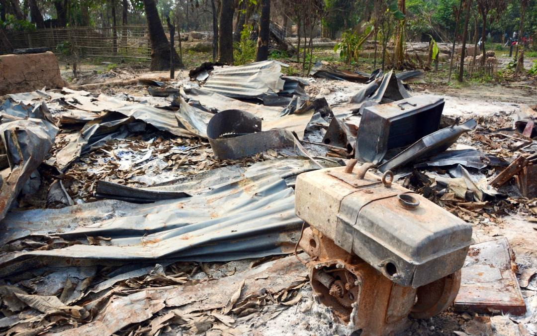 Establishing an university to make more Rohingyas homeless in Buthidaung