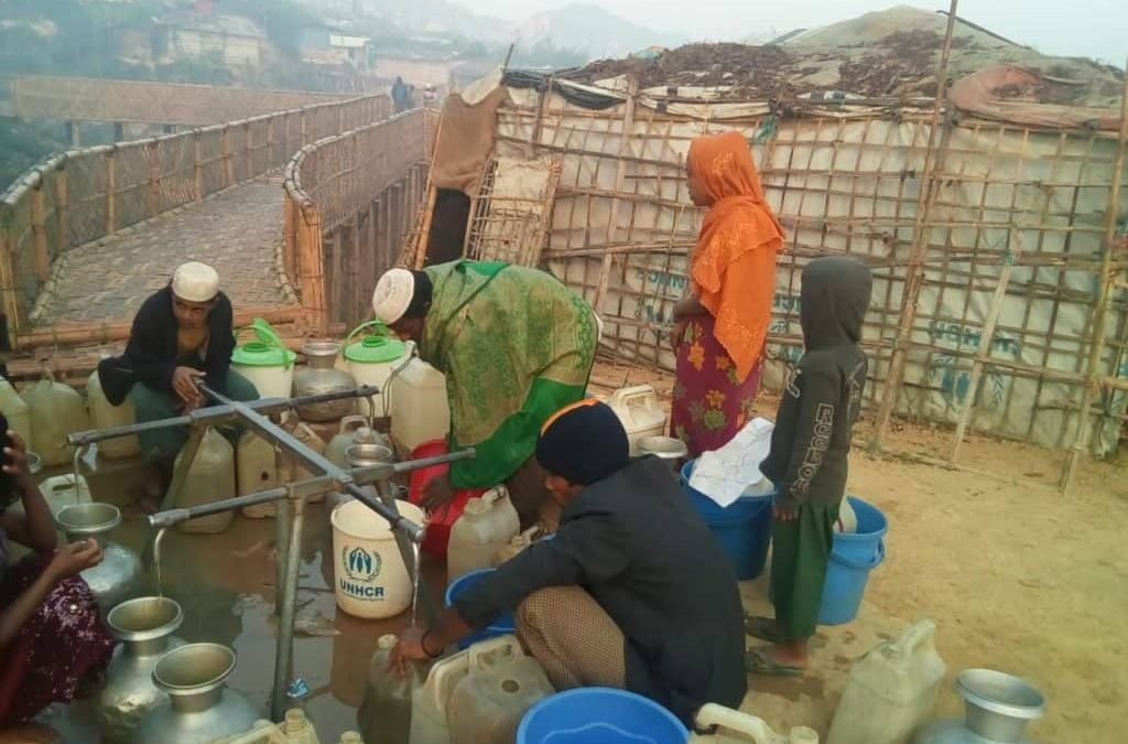 Water scarcity in Teknaf camps, now critical
