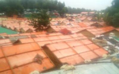 Landslide fatality at Kutupalong