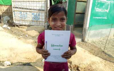 Rohingya children excluded from Rakhine schools