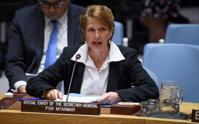 "UN envoy: Rakhine is ""Not favourable for repatriation """