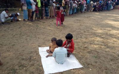 Japan may fund for the education of Rohingya children