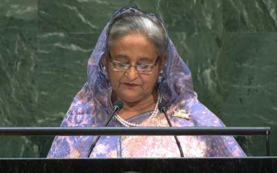 Bangladesh – Prime Minister Addresses General Debate, 74th Session