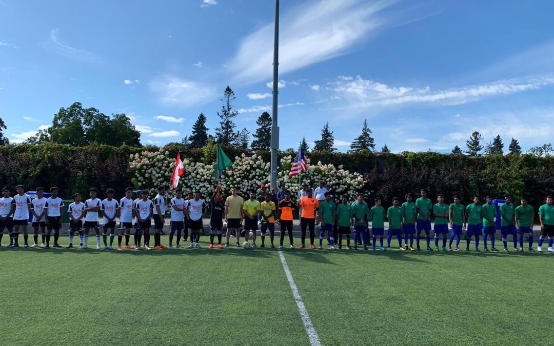 Photo News: Canadian Rohingya FC and The United States Rohingya SC