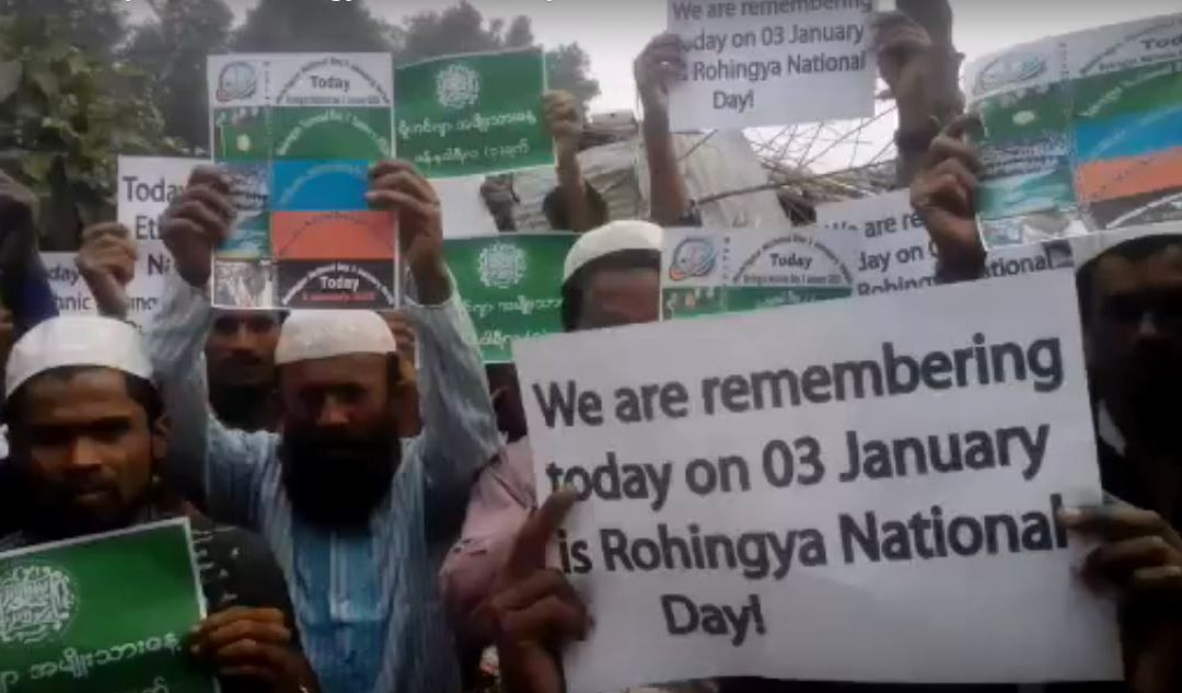 "Rohingya commemoration ""Rohingya National Day"""