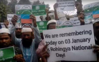 """Rohingya commemoration """"Rohingya National Day"""""""