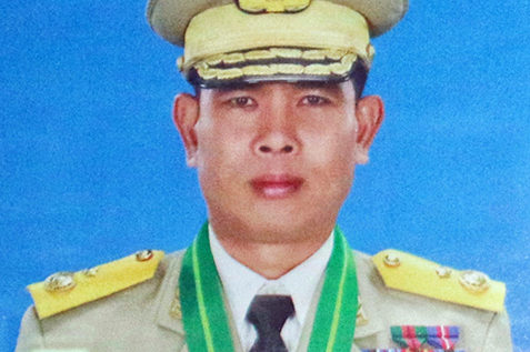 Chief of Myanmar military's Western Command has been promoted