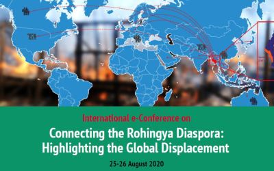Rohingya Diaspora around the world joins in for an online conference on 25th August