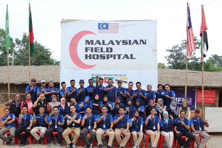 Malaysia's Rohingya refugee field hospital has been closed down