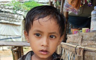 A child was found in Bhalukhali camp 1, D block