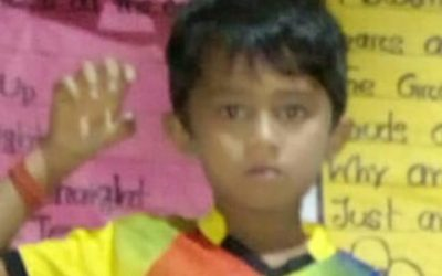 Mohammed Zunaid age 7 missing