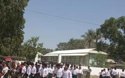 Volunteer teachers from Rakhine state have not been paid salaries since June