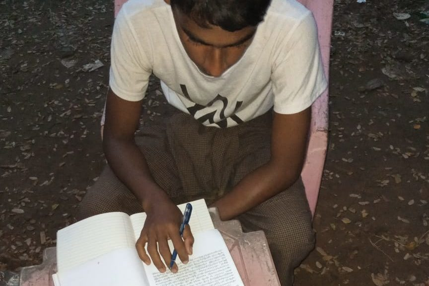 Poverty depriving Muhammed's dream of further education
